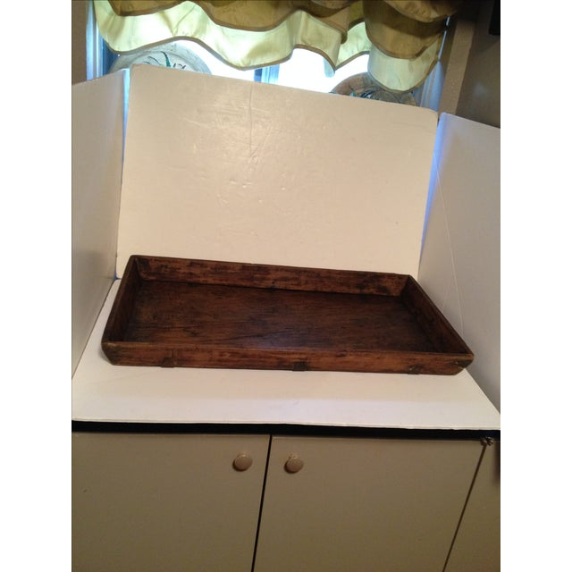 Antique Wood Bread Tray For Sale - Image 5 of 5