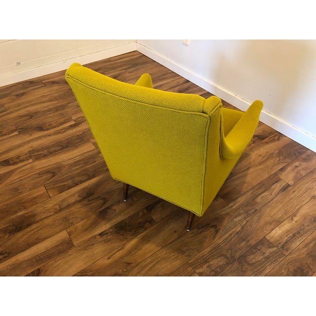 Yellow Milo Baughman Thayer Coggin Chair For Sale - Image 8 of 10