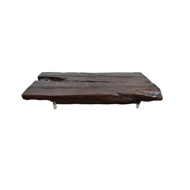 Live Edge Coffee Table For Sale - Image 4 of 4