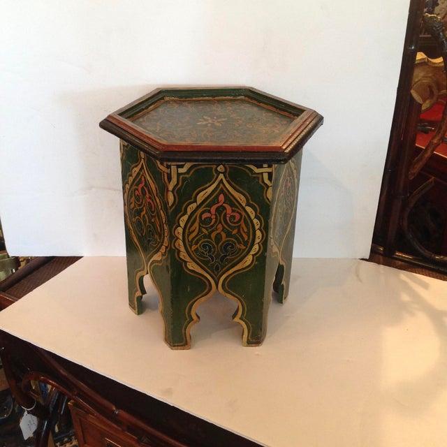 Petite Moroccan Tabouret For Sale - Image 12 of 12