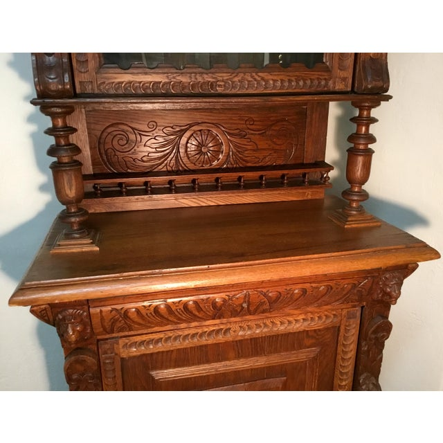 19th Century Belgian Hunt Cabinet For Sale - Image 4 of 13