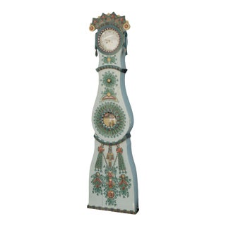 Gustavian Swedish Bridal Mora Clock For Sale