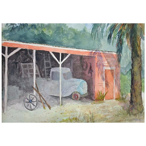 Old Truck Watercolor - Image 2 of 3