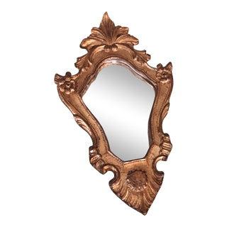 1930s Antique Italian Handmade Mirror For Sale