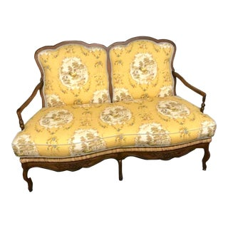 Drexel French Country Settee For Sale