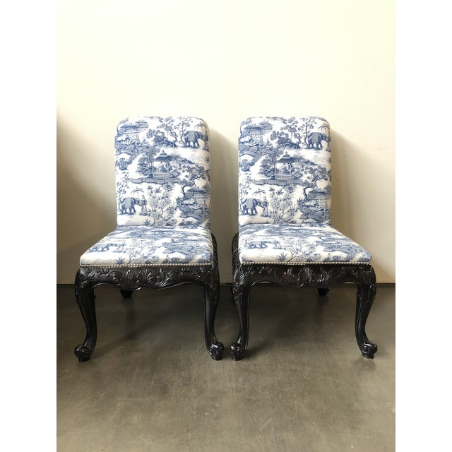 Ralph Lauren Home Bel Air Dining Side Chairs - a Pair For Sale - Image 12 of 12