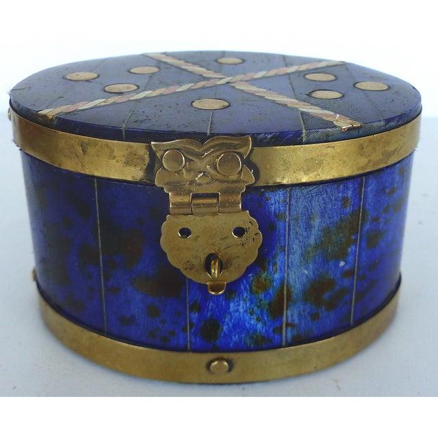 Lapis Hue Trinket Box - Image 3 of 6