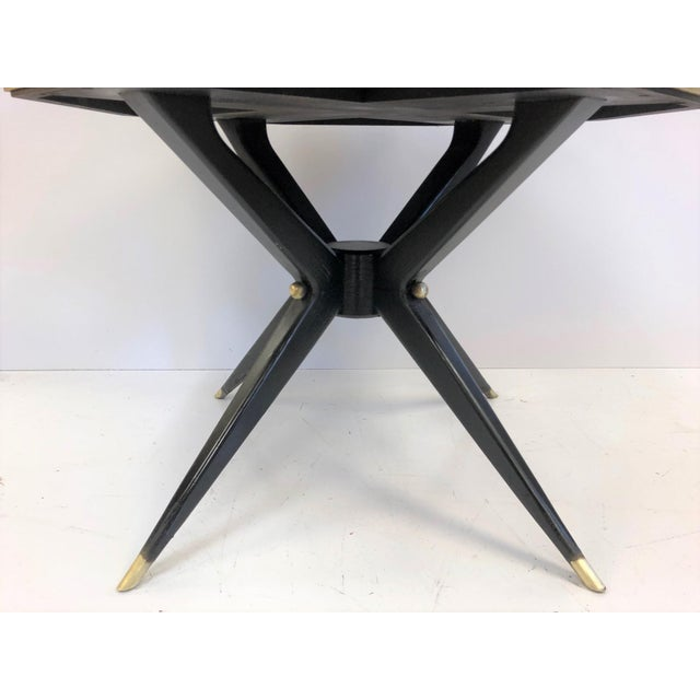 1960s 1950s Italian Marble Top Center Table For Sale - Image 5 of 7