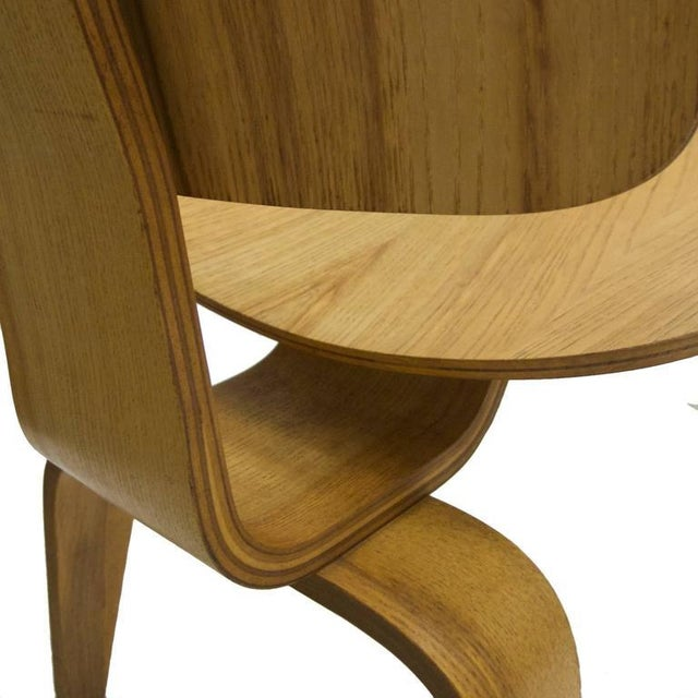 """Wood Charles and Ray Eames for Herman Miller Dcw """"Dining Chair Wood"""" in Oak For Sale - Image 7 of 10"""