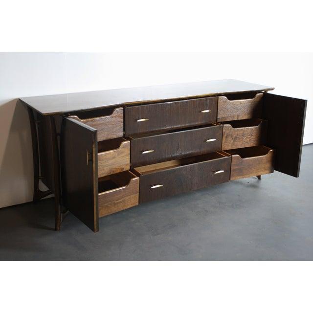 Piet Hein Sculptural Walnut Dresser Daniel Jones For Sale - Image 11 of 11