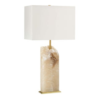 Selina Alabaster Table Lamp For Sale