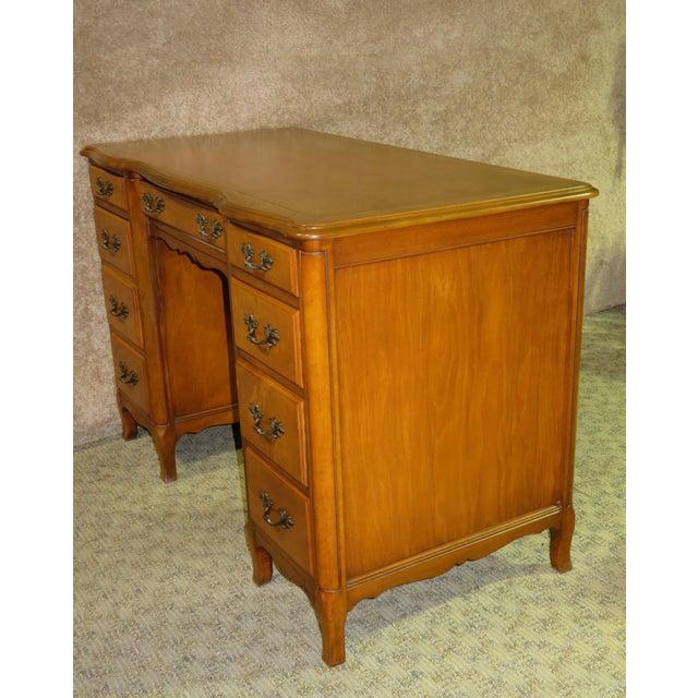 1970s French Provincial Sligh Partner Desk For Sale - Image 11 of 13