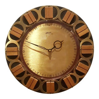 Atlanta Electric Wall Clock For Sale