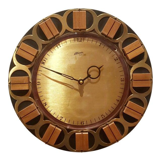 Atlanta Electric Wall Clock For Sale