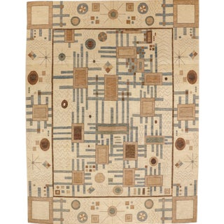 "Bauhaus Design Rug-9'11"" X 13' For Sale"