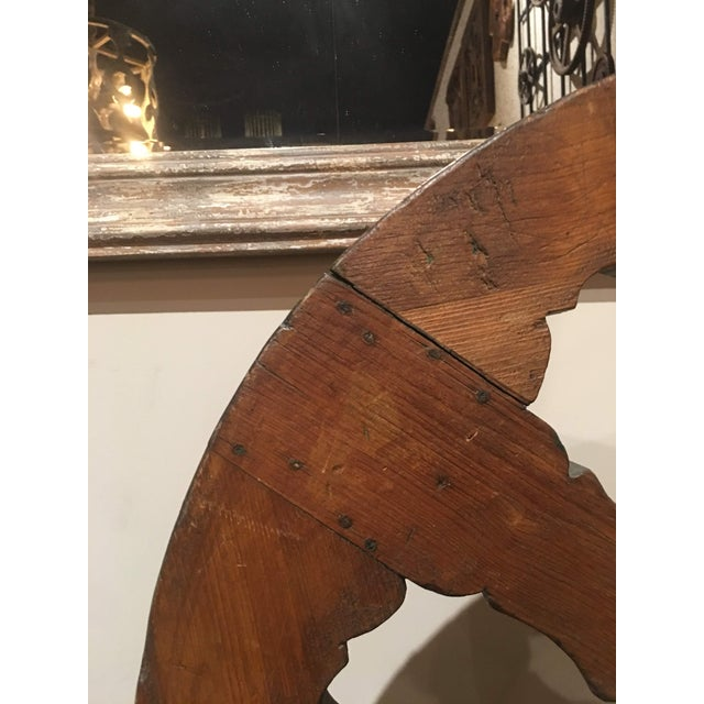 Pine Antique Pine Spinning Wheel For Sale - Image 7 of 13