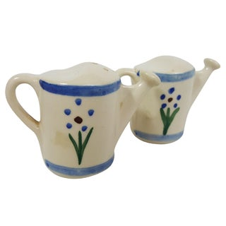 Shawnee Watering Can Salt & Pepper Shakers For Sale