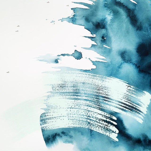 "Beth Winterburn Original Abstract - ""Crash"" - Image 3 of 4"