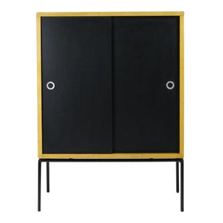 Paul McCobb Iron Base Cabinet