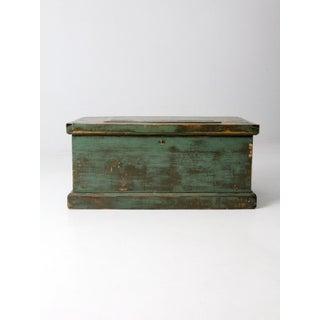 Antique Carpenters Trunk Preview