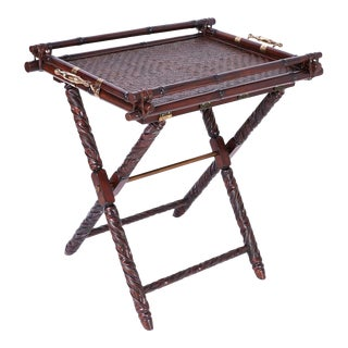Butler Tray Table or Bar For Sale