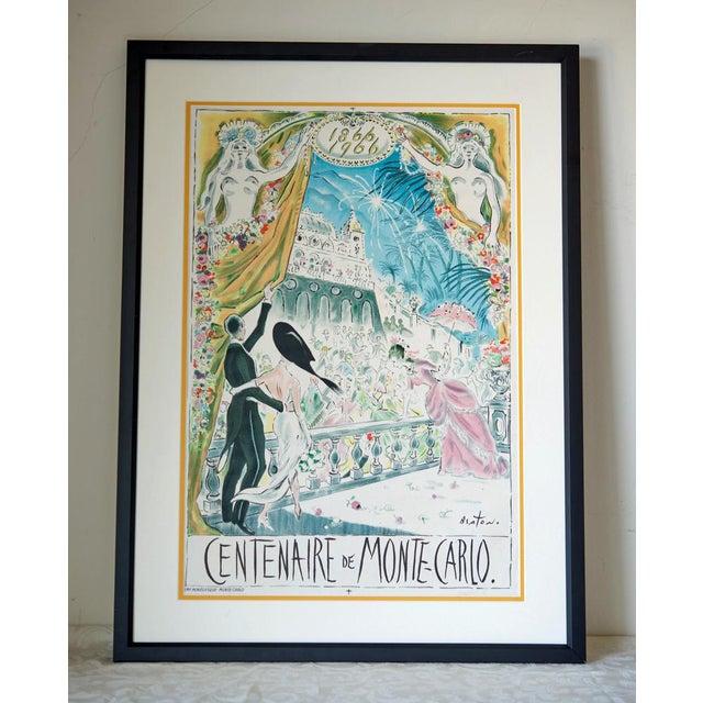 Cecil Beaton 'Centenaire De Monte Carlo' Lithograph - Image 2 of 8