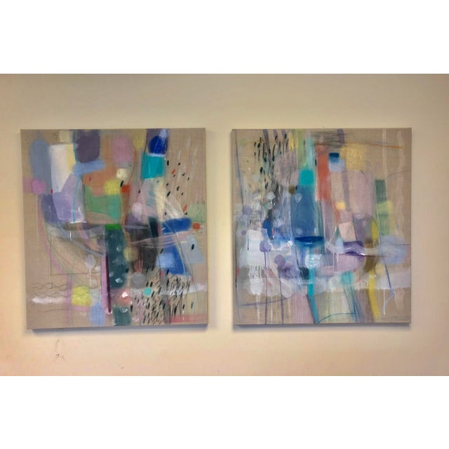 """Michelle Armas """"Candy Empire"""" and """"Enamorada"""" Paintings - a Pair For Sale - Image 13 of 13"""