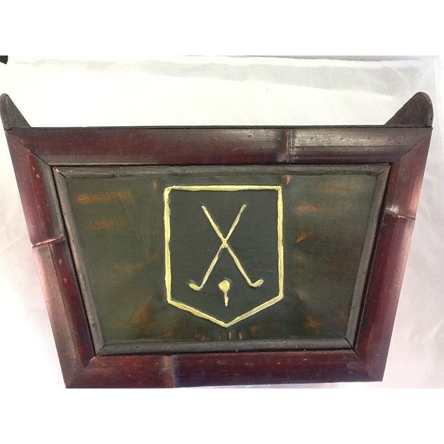 Vintage Golf Motif Box - Image 6 of 8