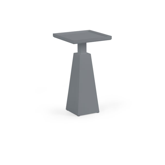 Transitional Casa Cosima Hayes Spot Table, Dior Gray For Sale - Image 3 of 3