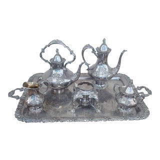 Reed & Barton King Francis Tea Set - 6 Pieces