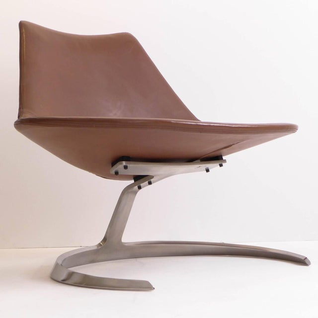 Scimitar Chair by Fabricius and Kastholm - Image 3 of 11