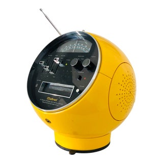 1970s Space Age Pop Modern Space Helmet Radio Eight Track For Sale