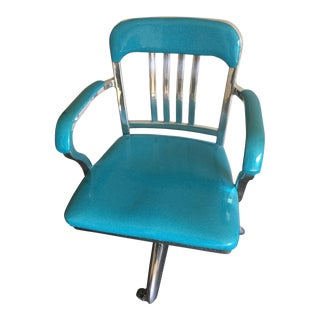 Brilliant Vintage General Fireproofing Executive Aluminum Chair