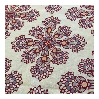 John Robshaw Fabric Remnant- 3/4 Yard For Sale
