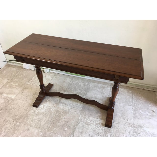 English Traditional Walter Company Slide Table or Desk For Sale - Image 4 of 13