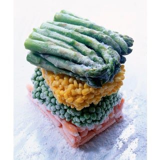 """""""Frozen Veggies"""" Contemporary Photograph by John Manno For Sale"""