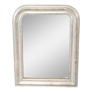 19th Century Louis Philippe Silver Gilt Mirror For Sale