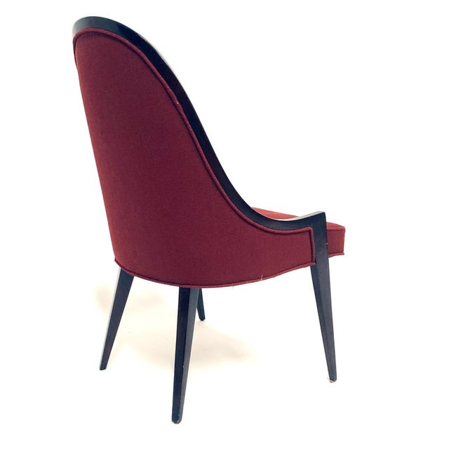 Mid 20th Century Harvey Probber Model 1053 Sculptural Gondola Slipper or Side Chairs - a Pair For Sale - Image 5 of 13