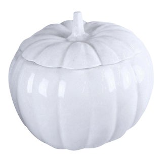 1990s Country Style Pumpkin Planter For Sale