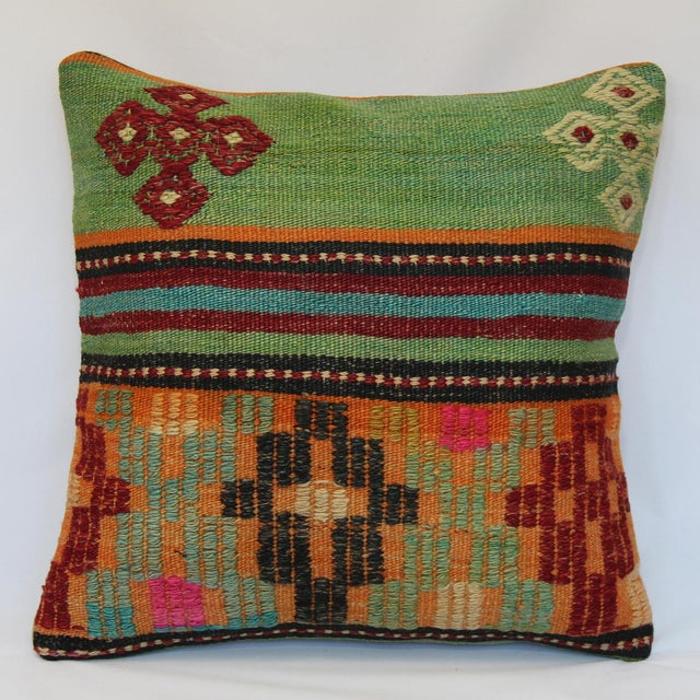 "Kilim Pillow Case 16"" - Image 2 of 5"