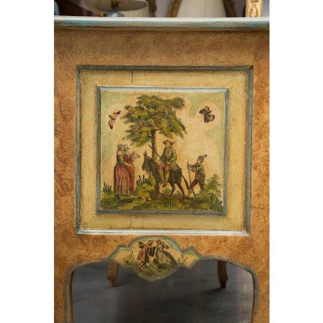 Mid 19th Century 19th Century Venetian Laca Povera Commode For Sale - Image 5 of 9