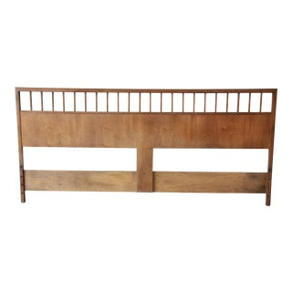 Milo Baughman for Arch Gordon Mid-Century Modern King Size Headboard For Sale