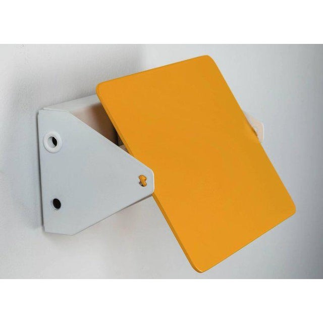 Charlotte Perriand Yellow 'Cp1' Wall Light For Sale In Los Angeles - Image 6 of 6
