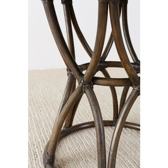 Wood McGuire Organic Modern Round Game or Dining Table For Sale - Image 7 of 13