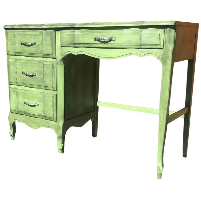 "1980s French Provincial Kent-Coffey ""The Maisonette"" Writing Desk For Sale"