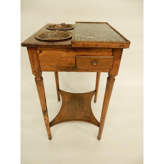 Brown French Provincial Rafraichissoir For Sale - Image 8 of 8