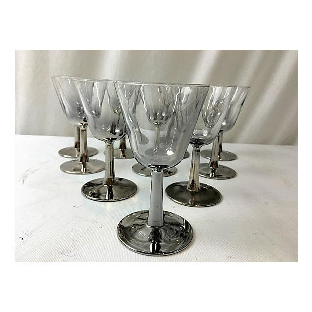 French Ombre Mercury Cordials - Set of 10 For Sale - Image 4 of 5