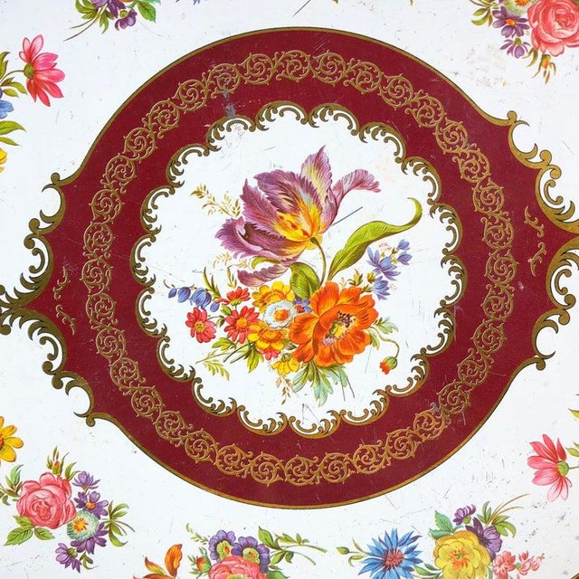 Vintage Daher Tin Tray For Sale - Image 4 of 6