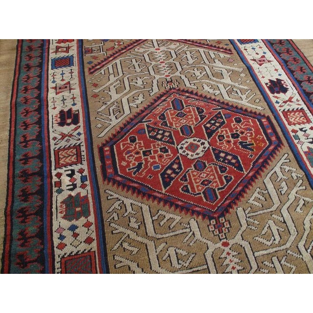 Islamic Antique Serab Long Rug For Sale - Image 3 of 8