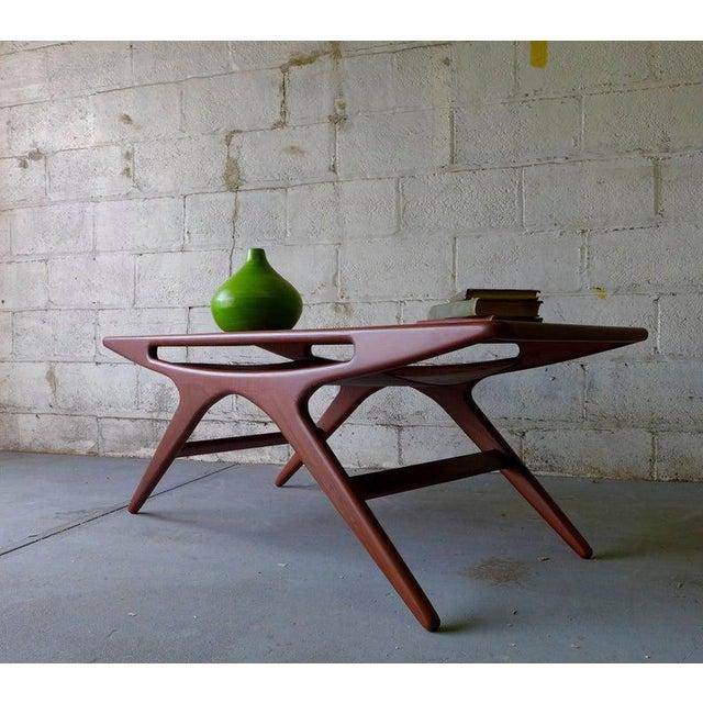 Mid Century Modern Teak Coffee Table